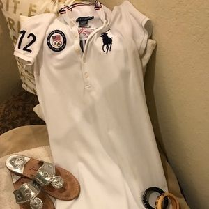 Ralf Lauren official Olympic polo dress